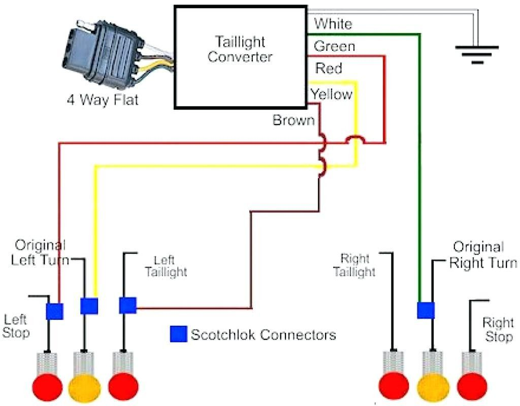 4 Pin Trailer Connector Diagram In 2020