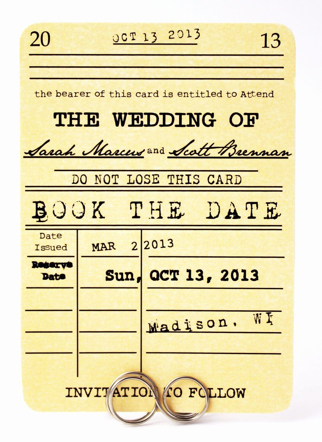 Library Card Invitations Template Best Of Save The Date Card Book The Date Library Card Wed Invitation Template Wedding Cards Handmade Wedding Invitation Cards