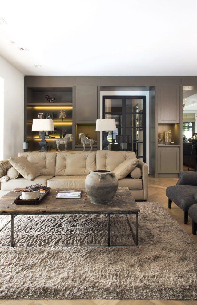 Luxe woonkamer inrichting met luxe meubels | Interieur | Pinterest