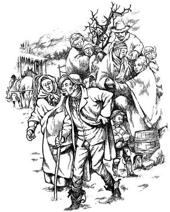 Adulting coloring pages ~ The Story of the Underground Railroad Dover Publications ...