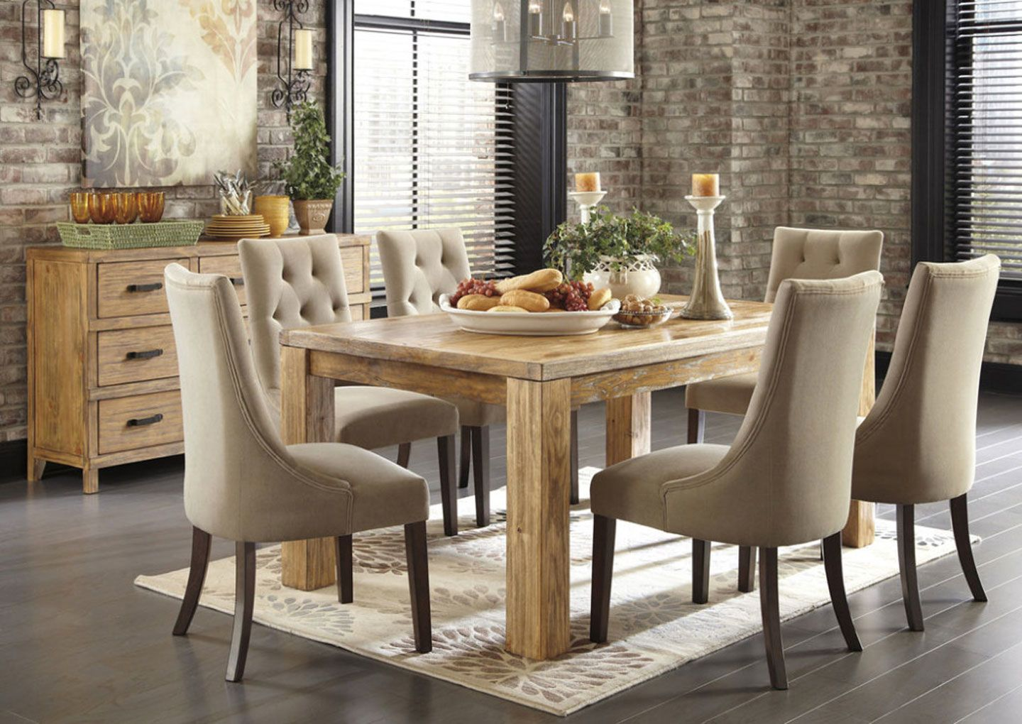Upholstered dining room chairs with flower vase and decorative upholstered dining room chairs with flower vase and decorative candles dzzzfo