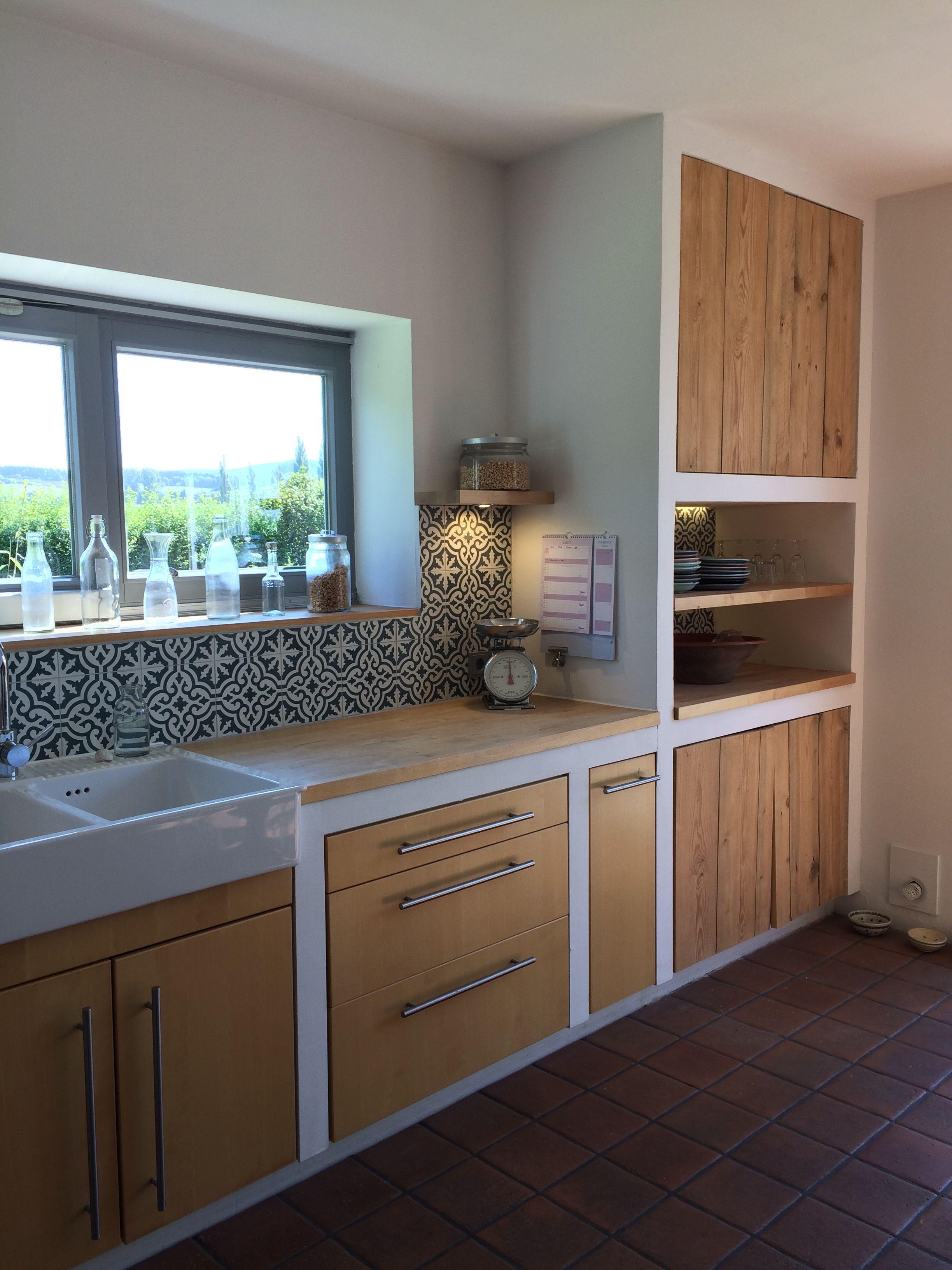 Gemauerte Küche  Cocinas de casa, Diseño muebles de cocina