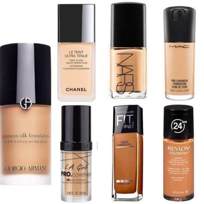 Nars Foundation makeup dupes #FoundationBeforeAndAfter   Makeup in