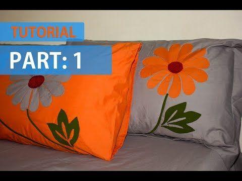 Tutorial Appliqu 233 Applic Hand Made Bed Sheet And Pillow