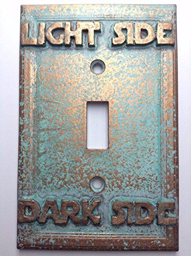 Star wars lightdark side light switch cover custom aged star wars lightdark side light switch cover custom aged sciox Image collections