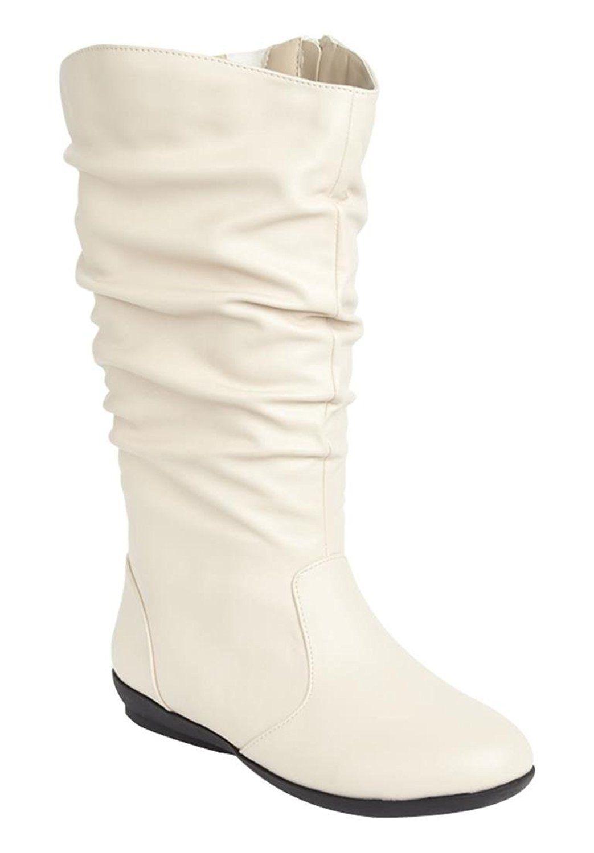 8a6d45308eb Comfortview Women s Melia Wide Calf Boot Winter White