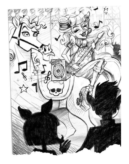 Monster High - book images | monster high | Pinterest | Dibujo