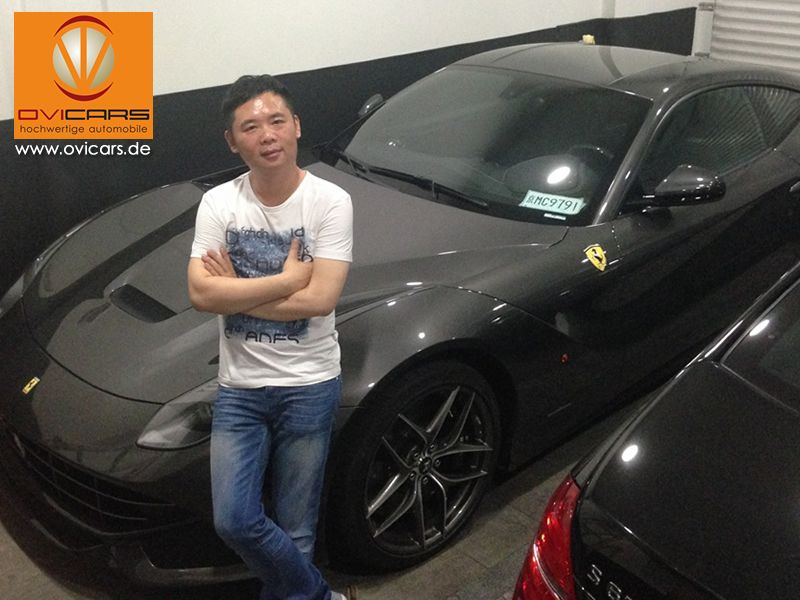 Ferrari F12 export to China. Our customer Zhang from China (Shanghai) found himself this new Ferrari F12 at a Paris Ferrari dealer. However he purchased this sportster through OVICARS....Read testimonial: http://ovicars.de/ferrari-f12-export-nach-china/  #ovicars #ferrari #luxurycars #export