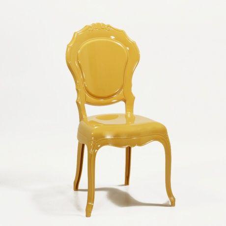 4 Pieds Chaise Design En Polycarbonate Opaque Style Regence Belle Epoque 149EUR