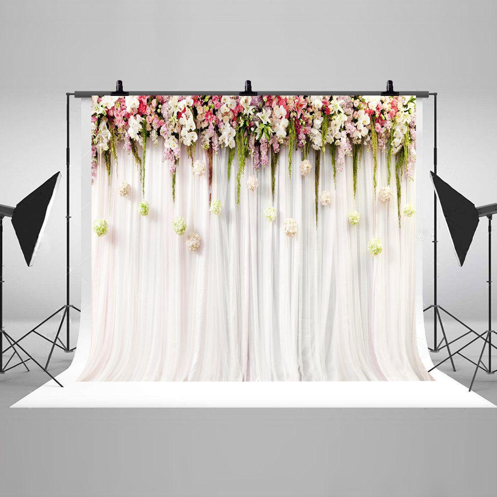 5x5FT Vinyl Photography Backdrop,Garden,Keukenhof Seasonal Scenery Background for Graduation Prom Dance Decor Photo Booth Studio Prop Banner