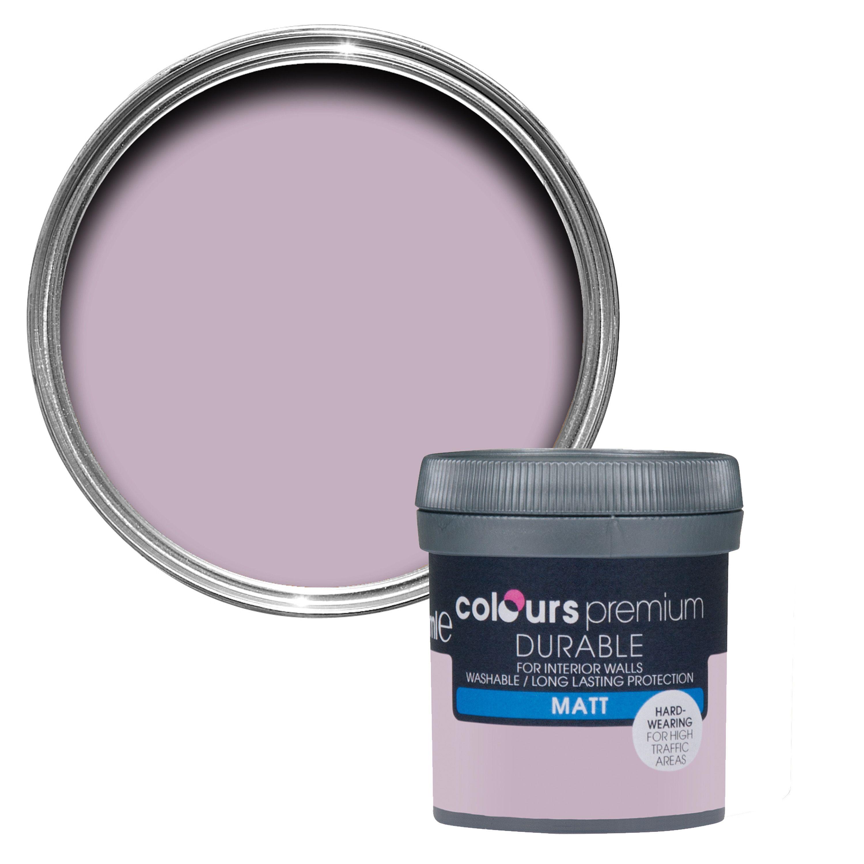 Brilliant Colours Durable Orchid Matt Emulsion Paint 50Ml Tester Pot Interior Design Ideas Apansoteloinfo