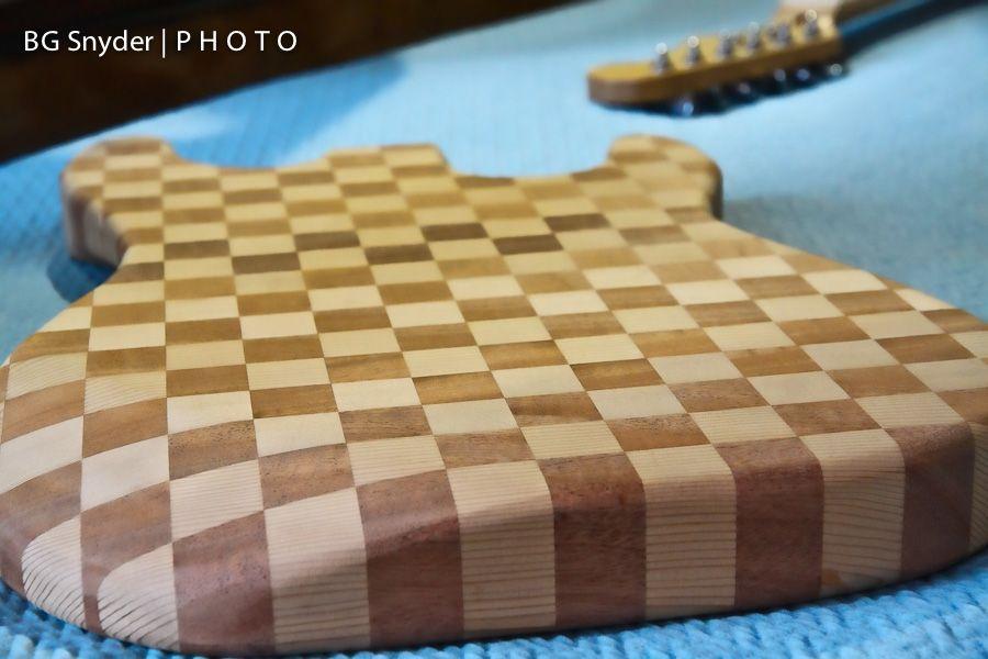 Checkerboard Guitar   photoriety
