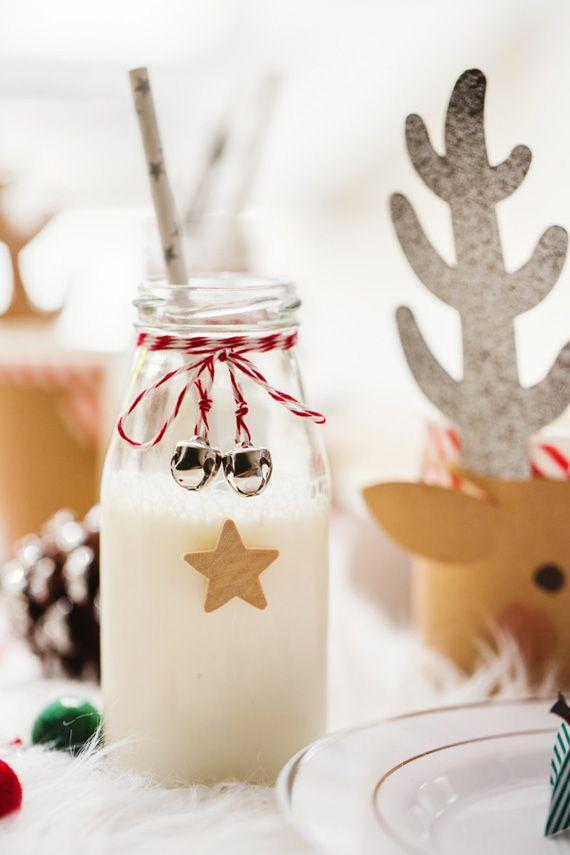 Decoraci n de una mesa de navidad para ni os swedish - Mesas decoradas para navidad ...
