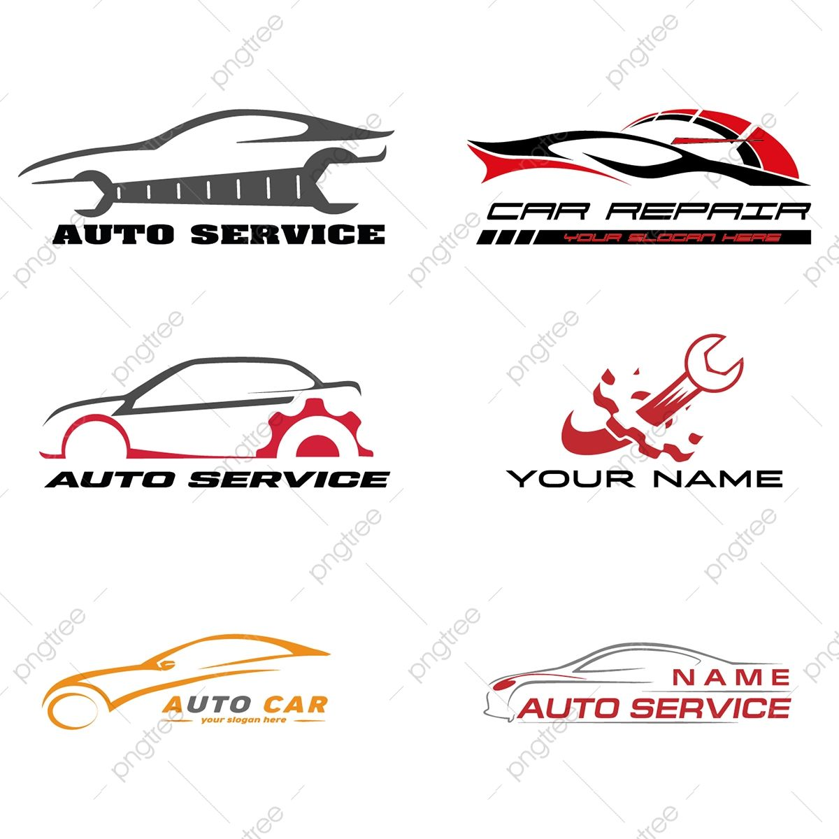 Car Repair Logo Auto Service Car Png And Vector With Transparent Background For Free Download Auto Repair Auto Shop Logo Automotive Logo