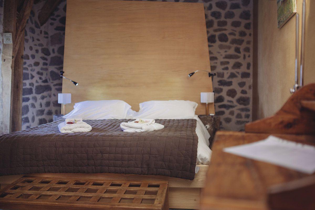 chambres d'hôtes laguiole aubrac - chambre du canard et de l'oie