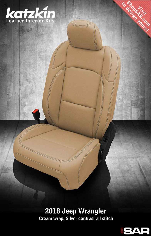 Katzkin Custom Leather Auto Interiors Leather Seat Covers Jeep Wrangler Interior Leather Seat Covers Jeep Wrangler