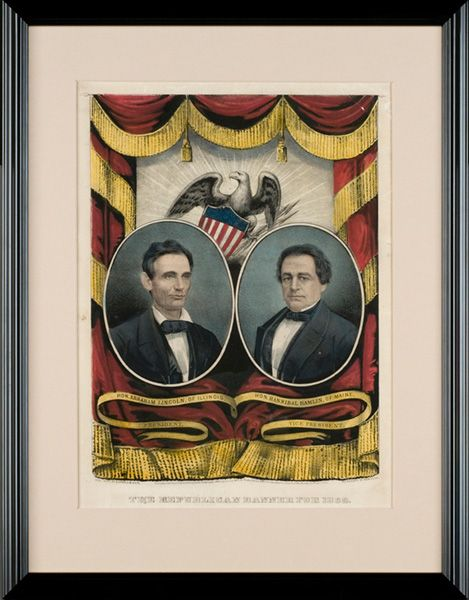 *4-WAY RACEforPRESIDENT~election1860: took place w/a nation in crisis.TheRep.Party, infuriated theSouth by nominatingAbraham Lincoln of Ill.The Dem.Party,unable to agree on a single candidate,split into northern+ southern factions.Northern Dem.nominated StephenA.Douglas of Ill while the southern Dem.nominatedVicePresidentJohnC. Breckinridge of KY.JohnBell ofTNwas nominated by the newly formed Constitutional UnionParty.The contest in the N.betwn Lincoln&Douglas.In theS.betwn Breckinridge…