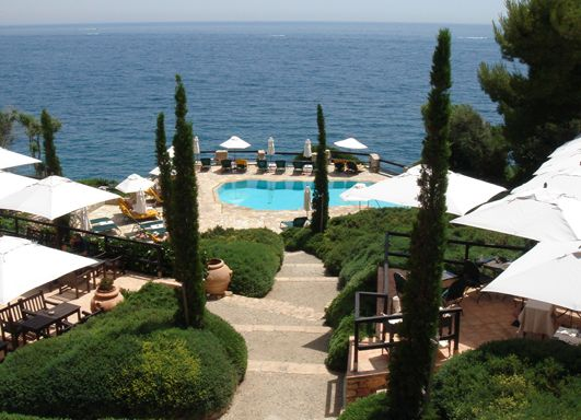 Il Pellicano Hotel. Tuscany. Italy.