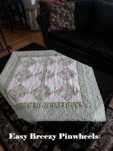 Quilt Pattern Easy Breezy Pinwheels Fast by SleepingCatCreations