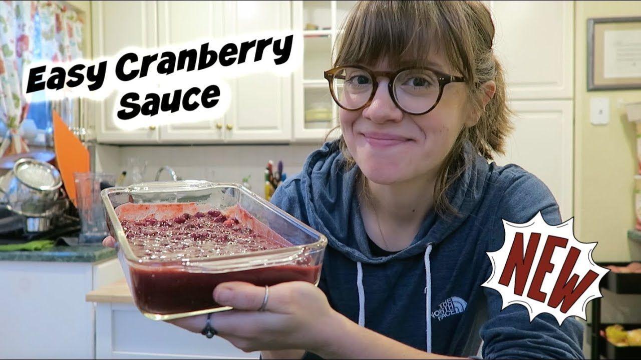 Easy Cranberry Sauce Recipe #cranberrysauce