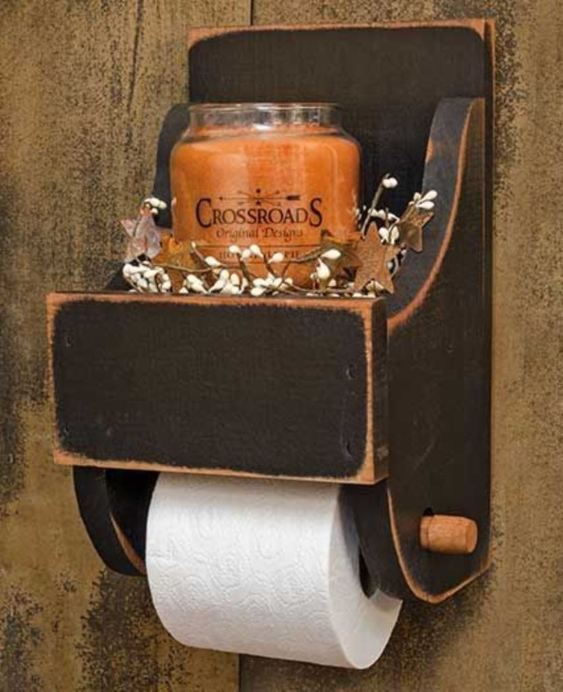 40 Smart Diy Rustic Toilet Paper Holder To Amazing Bathroom Decor Rustic Toilet Paper Holders Wood Toilet Paper Holder