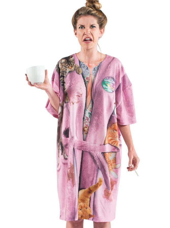 3d2abc6677 Crazy Cat Lady Nightshirt Costume