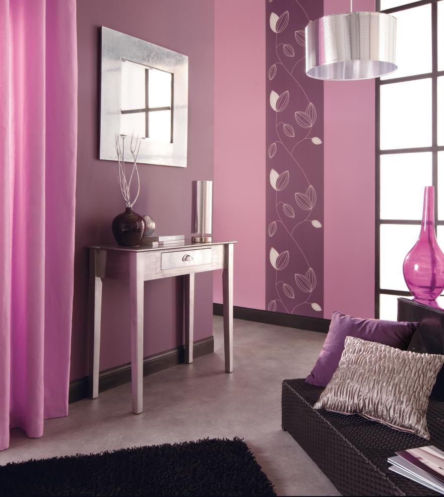 Déco Intérieur Pourpre | Organisation Décoration Chambre Adulte Rose Et Gris  .