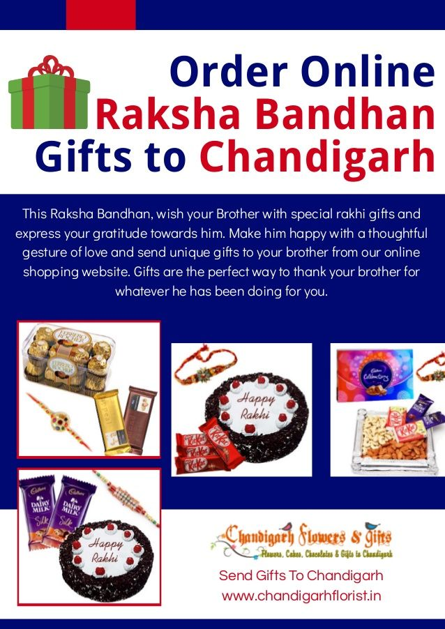 Pin by Chandigarhflorist on Order Online Raksha Bandhan Gifts To Chandigarh | Pinterest | Raksha bandhan gifts, Raksha bandhan and Chandigarh