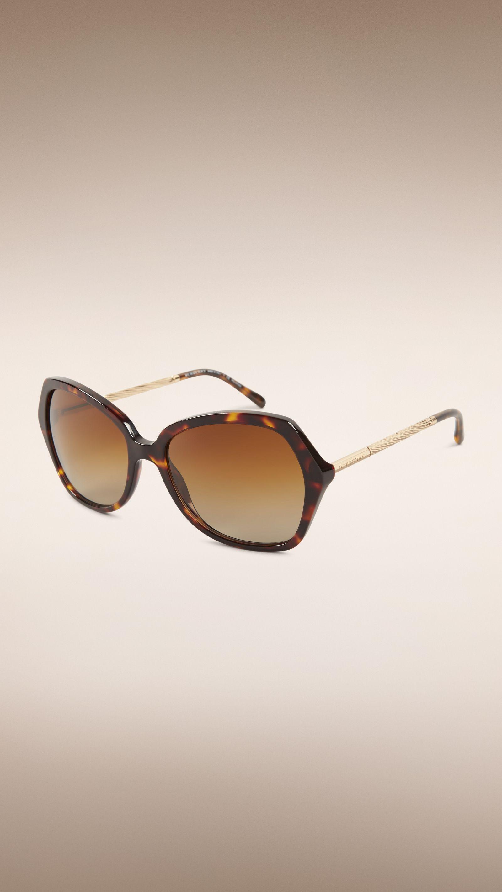 Gafas de sol grandes con montura cuadrada de la colección Gabardina ...