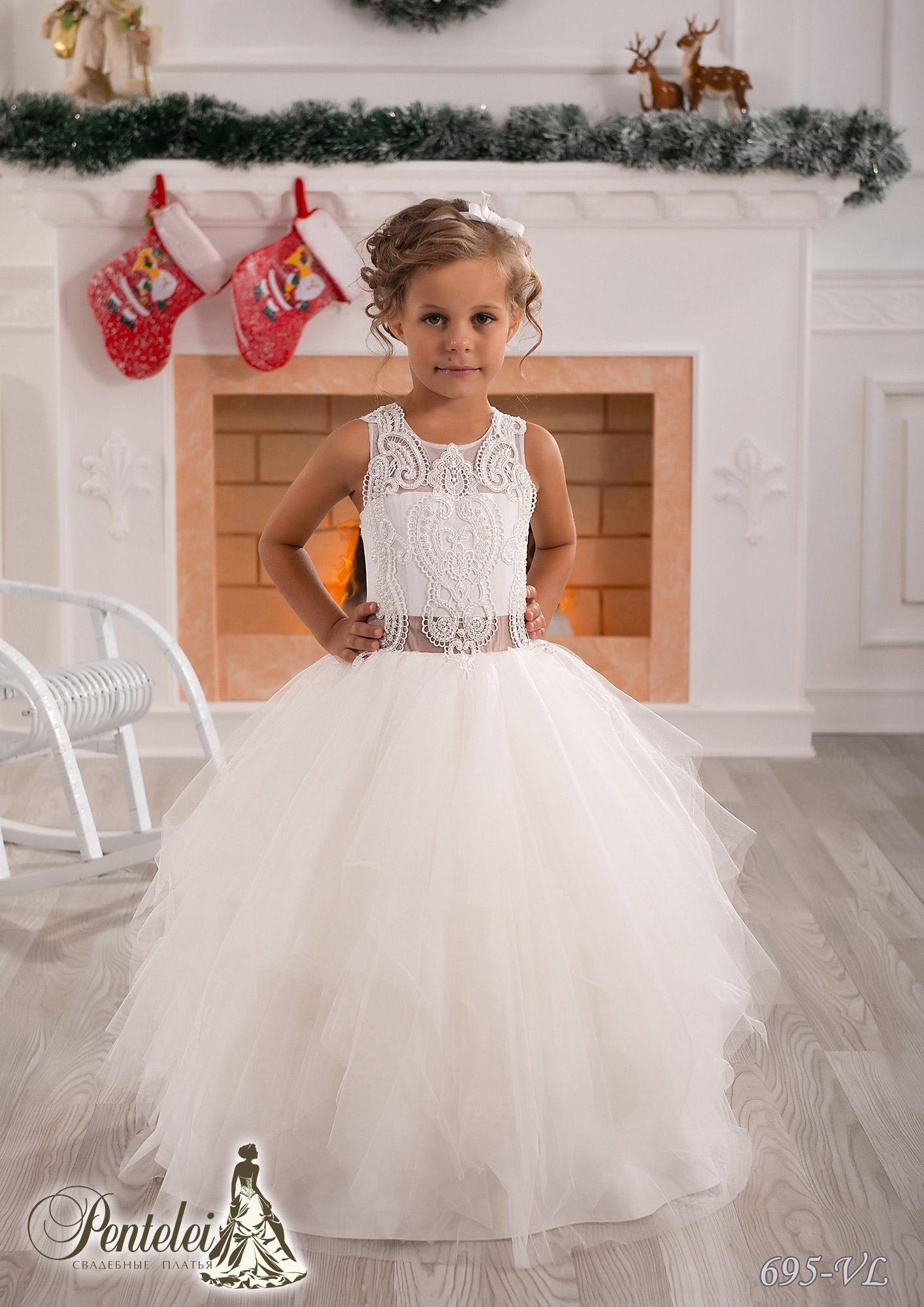 Simple Cute Jewel Applique Sash Net Baby Girl Birthday Party ...