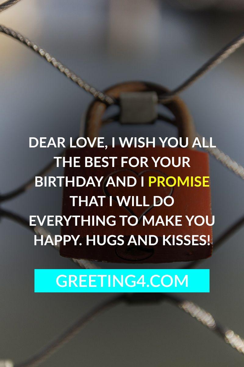 Short Birthday Wishes For Girlfriend Happy Birthday