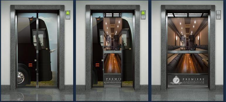 Image result for elevator advertising
