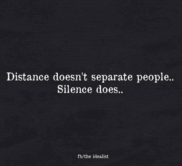 Silence Kills Relationships Wisdom Quotes Simple Words Words