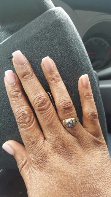 Natural Overlay Jazzynails Jacksonvillefl Overlay Nails Acrylic Overlay Manicure