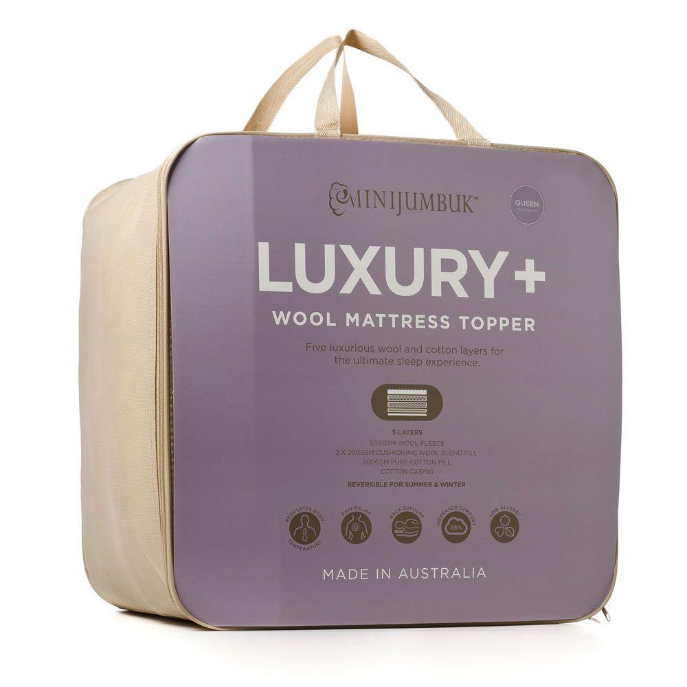 Luxury Wool Mattress Topper Wool Mattress Mattress Topper Mattress