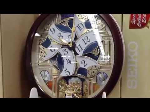 Seiko Collectors Edition clock Model #: QXM554BRH from Sams Club ...