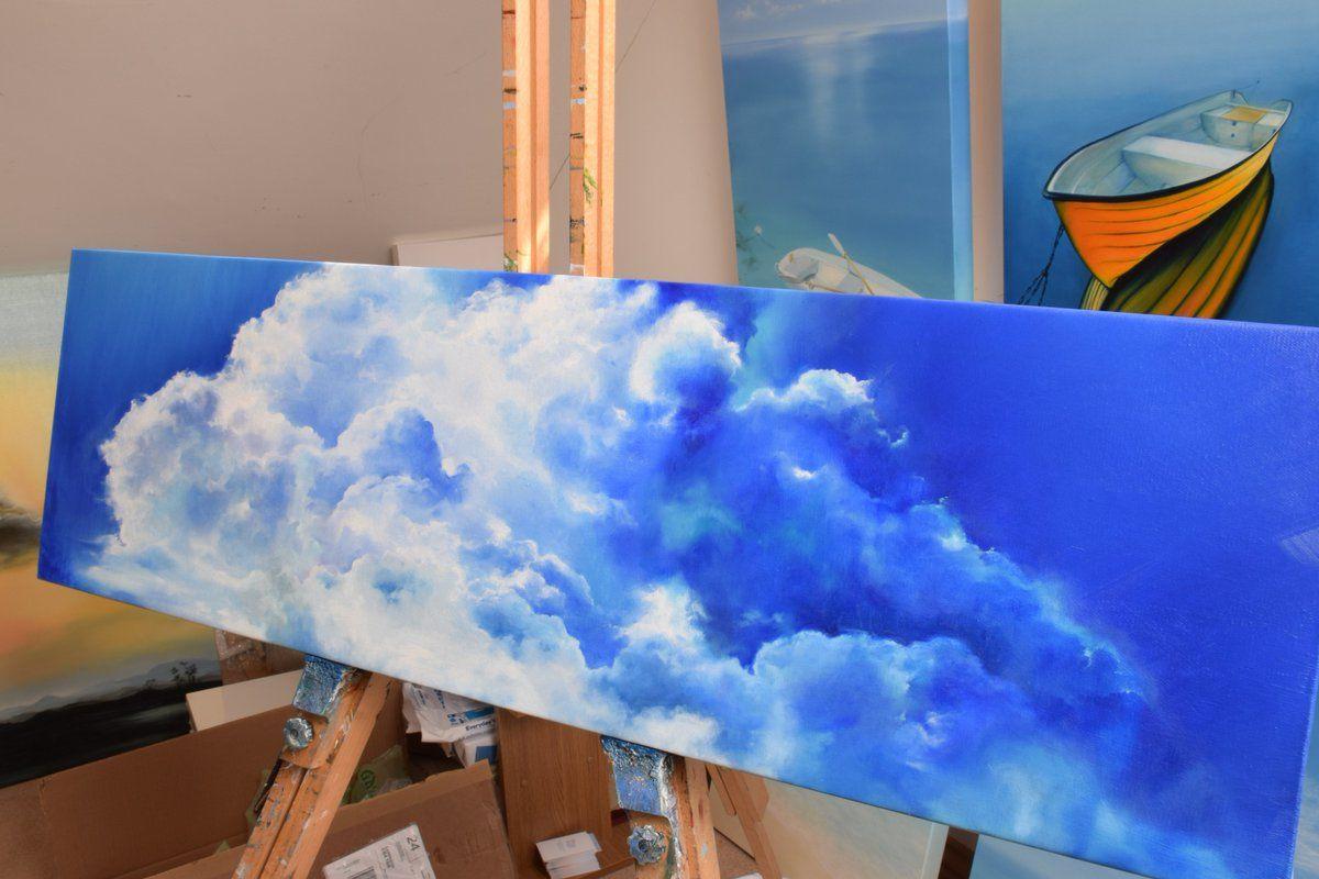 Afbeeldingsresultaat voor blue paintings artist skye