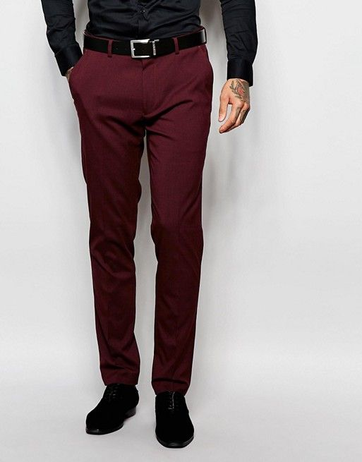 Mens Pant Idea To Be Worn With Black Dress Shirt And Accompanying Tie And Jacket Per The Dress Code Online Link