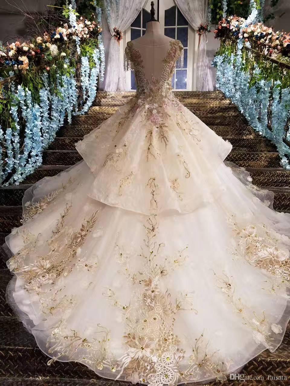 Champagne Colored Wedding Dresses Vintage