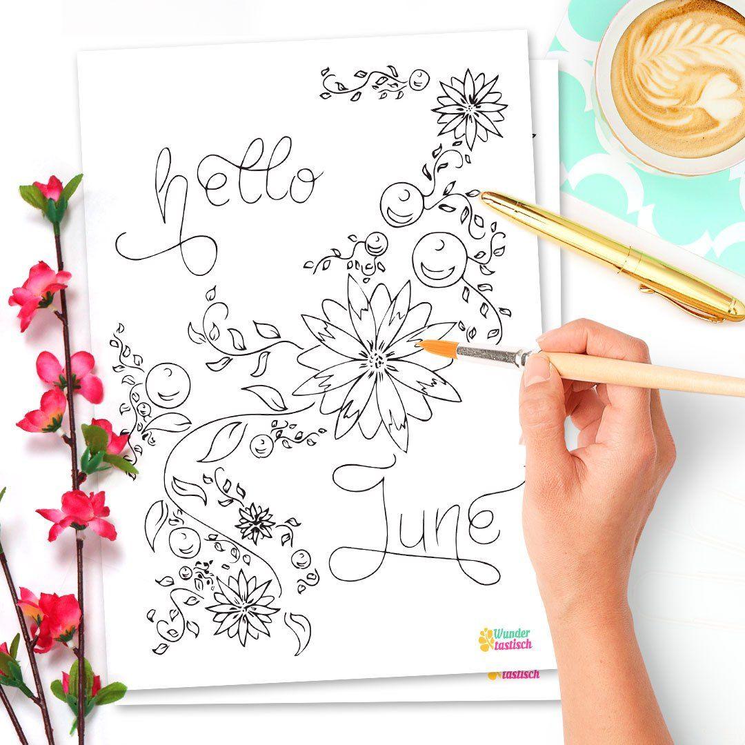 15 Bullet Journal Printables June Freebies