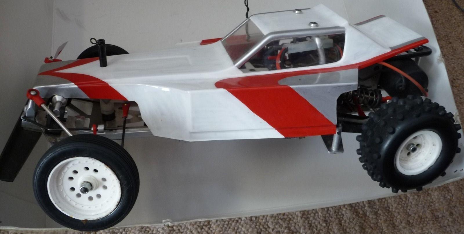 AYK Bobcat vintage 1985 remote control RC car. Please read
