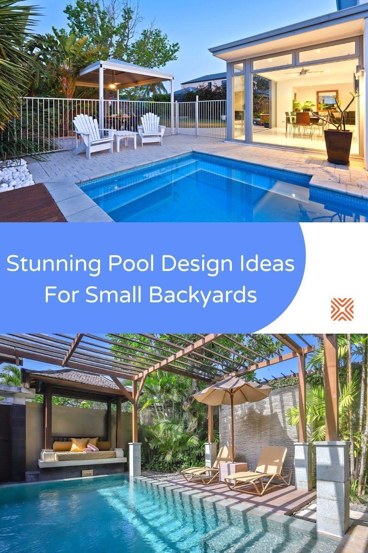 Small Backyard Pools Ideas Designs Accessories And Costs In 2021 Backyard Pool Small Backyard Pools Small Backyard