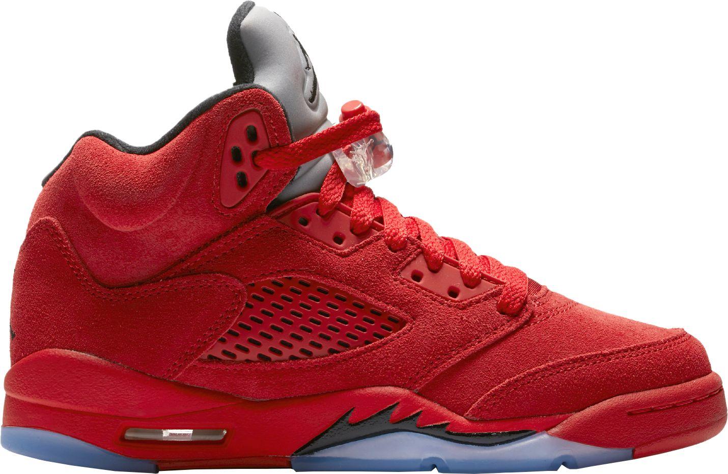 low priced bd880 06a9a Jordan Kids' Grade School Air Jordan 5 Retro Basketball ...