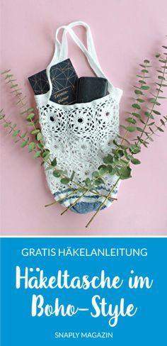 Photo of Häkeltasche im Boho-Stil – freies Muster | Schnelles Magazin