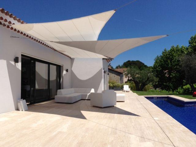 Les voiles du0027ombrage  Dix maisons, dix styles Verandas, Backyard - location de villa a agadir avec piscine