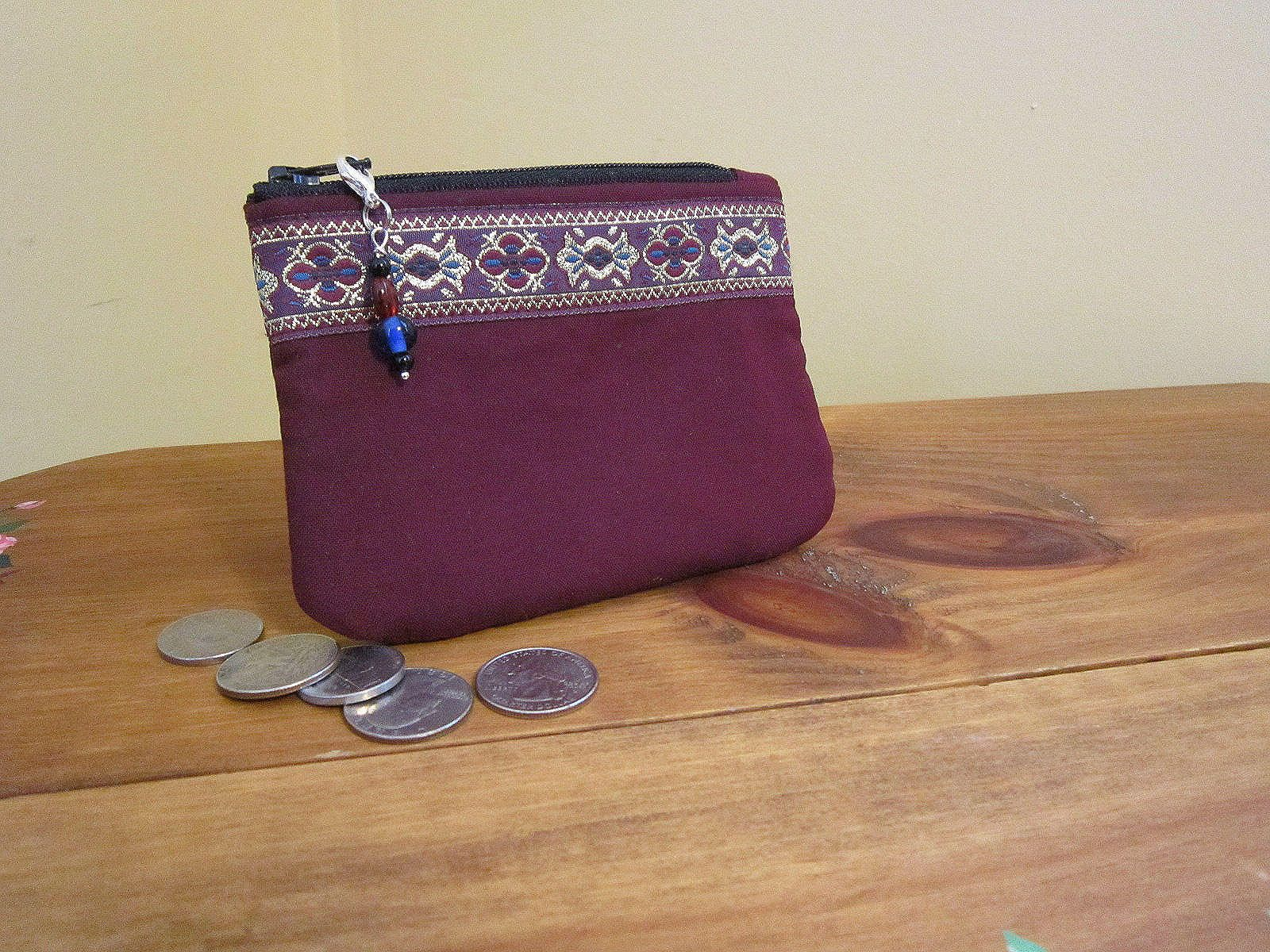 Change Purse, Coin Purse, Small Wallet, Gift Card, Business Card ...