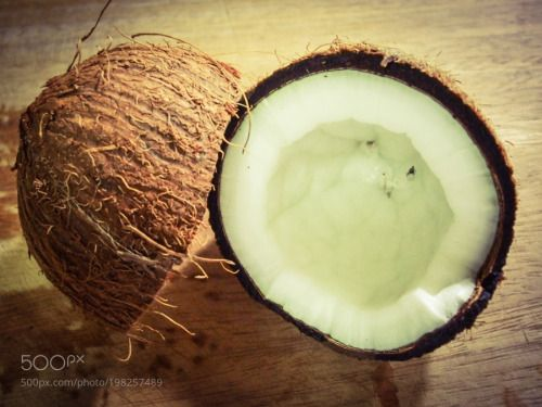 coconut fruit by c4carvalho  IFTTT 500px