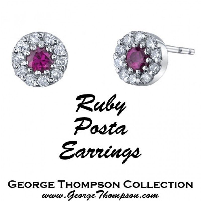 Pop Perfect Ring Diamontrigue Jewelry: Ruby Posta Earrings, From George Thompson, Have A Perfect