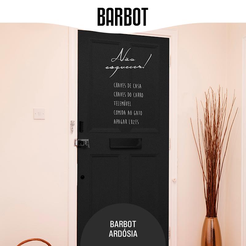 É desorganizado? Esquece-se frequentemente das suas coisas em casa? Resolva estas distrações pintando a sua porta de entrada com Barbot Ardósia e (re)lembre-se de tudo antes de sair! www.barbot.pt