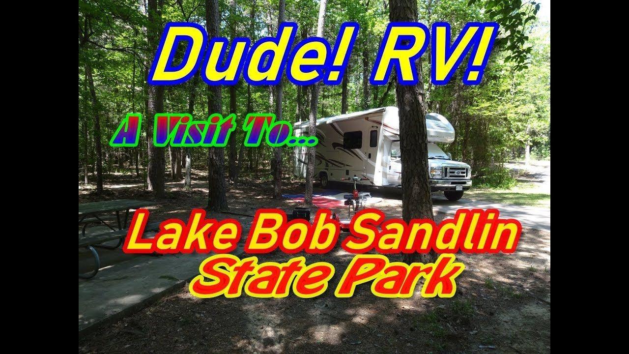 Lake bob sandlin state park rv camping in the beautiful